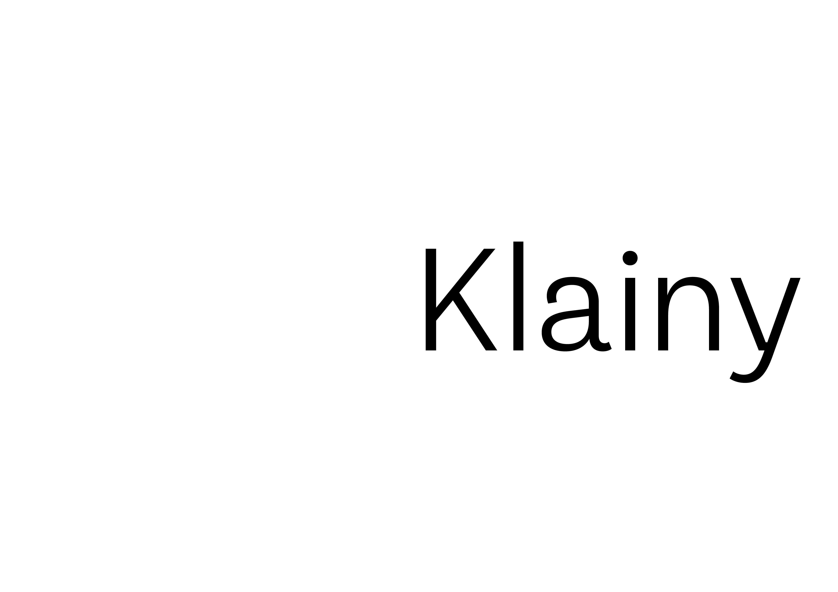 Klainy - Identity Letters